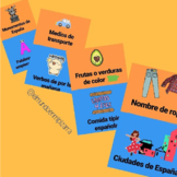 STOP: VOCABULARY GAME (SPANISH) - JUEGO VOCABULARIO (ESPA
