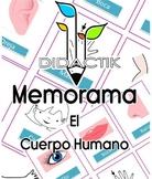Juego de Memorama El Cuerpo Humano -- Game of Memorama The Human Body