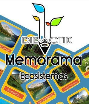 Juego de Memorama de Ecosistemas para Niños