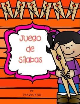 Juego de Silabas - Clip It