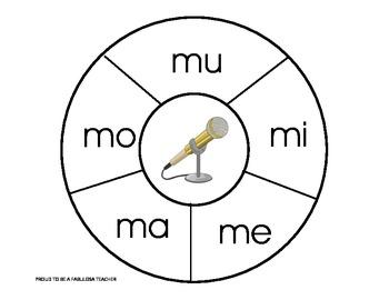 Spanish Beginning Syllables Game
