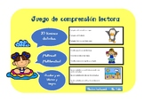 Centro de lectura - espanol- comprension de lectura