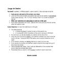 Juego de dados / Dice Game - Easy Vocabulary Practice Game