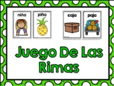 Las Rimas- Rhyming words in Spanish