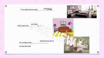 Spanish prepositions -PowerPoint