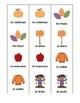 Juego de memoria el otoño-Fall Memory Game