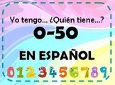 Juego de numeros-yo tengo-I have... who has...? numbers game spanish