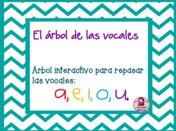 Juego de vocales en español