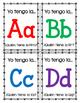 Juego del alfabeto: Yo tengo la...¿Quién tiene la...? / Alphabet Game