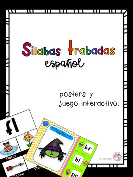 Juego interactivo de Silabas Trabadas en español