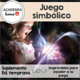 Juego simbólico / Dramatic Play in Spanish