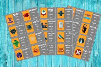 Juego tabú / taboo game Halloween