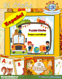 Juego vocabulario de Otoño - Fall vocabulary Puzle game