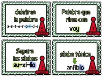 Juegos/ Centros con diptongos io, oi, oy - ¡Toca, Juega y Aprende!