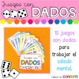 Juegos con dados - LLAVERO - Colour me Confetti