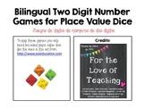 Juegos de dados para numeros de dos digitos/Two Digit Number Dice Games