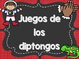 Juegos de los diptongos/hiatos- Diphthong Games and puzzles