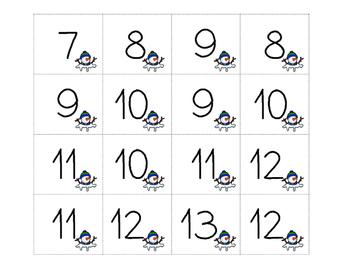 Juegos de matemáticas para el Invierno