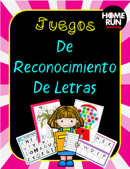 Letter Recognition in Spanish, Juegos De Reconocimiento De Letras