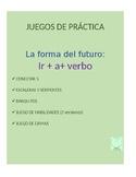 Juegos for Spanish Grammar: future tense with ir conjugati