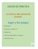 Juegos for Spanish Grammar: jugar y los juegos practice