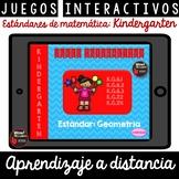 Juegos interactivos Estándares de matemática: Kindergarten