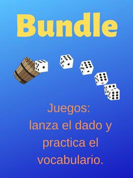 Juegos: lanza el dado y practica el vocabulario.