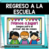 Juegos para el Primer Día de Clases   Spanish Back to Scho