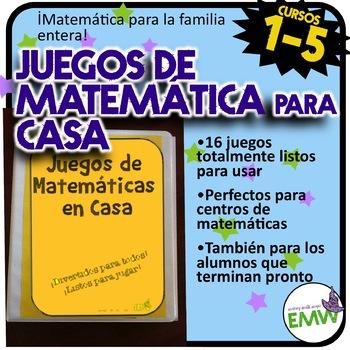 Juegos perfectos para la familia y la noche familiar de matemática