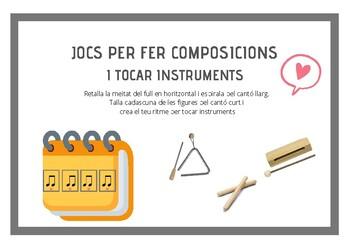 Juga, composa i toca instruments