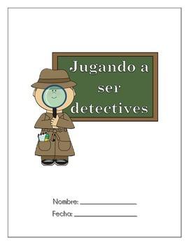 Jugando a ser detectives Spanish Worksheet
