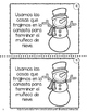Jugando en la Nieve-  ¡Brr!  Lectura Invernal Primer Grado