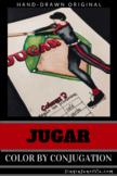 Jugar Color by Pronoun Stem-Change Coloring Sheet