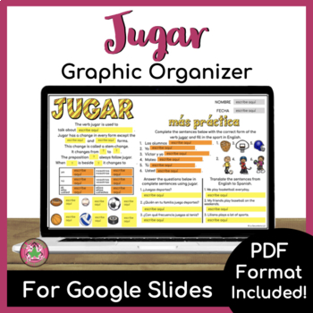 Jugar Graphic Organizer