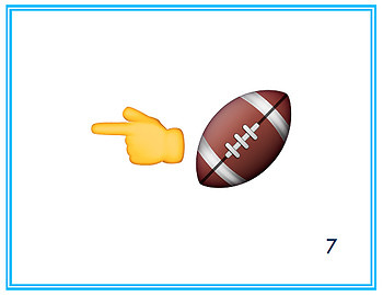 Jugar a los deportes - Emojis- Task Cards