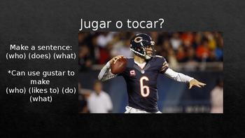 Jugar vs. Tocar Lesson Presentation