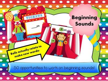 Juggling Beginning Sounds  - more FLASH less CARDS