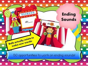 Juggling Ending Sounds  - more FLASH less CARDS