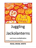 #backtoschool  Preprinted Juggling Jackolanterns Read Draw