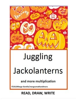 No Prep Preprinted Juggling Jackolanterns Read Draw Write