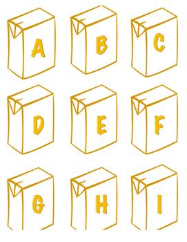 Juice Box Letters