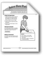 Juice Box Puffers (Properties of Earth Materials)