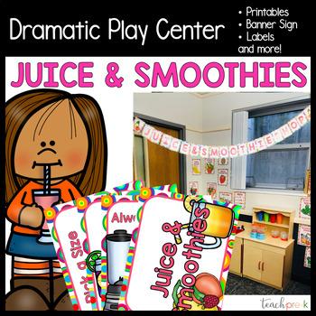 Smoothie Shop Dramatic Play Set