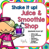 Smoothie Shop Dramatic Play