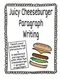 Juicy Cheeseburger 3-Details Paragraph Writing