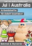 Jul i Australia - nivådelte minibøker [BM&NN]