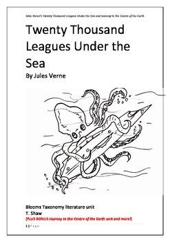 Jules Verne Literature Unit