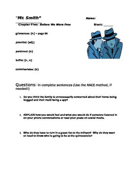 Julia Alvarez ~ Before We Were Free Chapter Five Study Questions