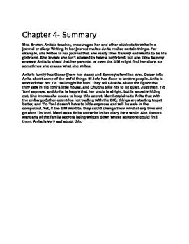 Julia Alvarez - Before We Were Free Chapter Four Study Questions