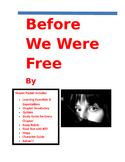 Julia Alvarez ~ Before We Were Free MASTER PACKET (46 pages)
